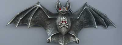 LUCKY13 Buckle/Bat Eyes