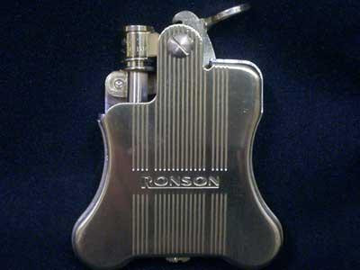 Ronson Flint Oil Lighter/Banjo