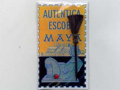 中南米のスピリチャル雑貨/マヤのうるとら ホウキ