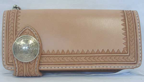 Old West Tribal 柄 Long Wallet