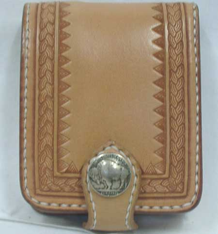 Old West Tribal 柄 2つ折り Short Wallet