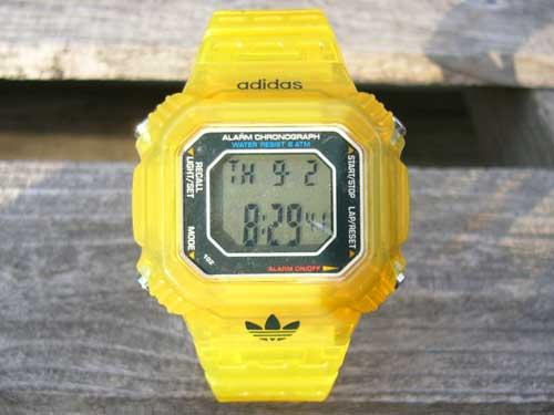 Adidas 腕時計 HSD 801 Clear Yellow