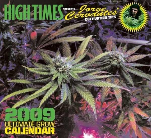 HIGH TIMES 2009年カレンダー