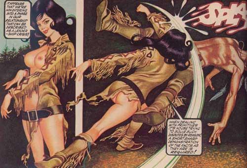 PENTHOUSE 1979 Dec 掲載コミック OH,WICKED WANDA!