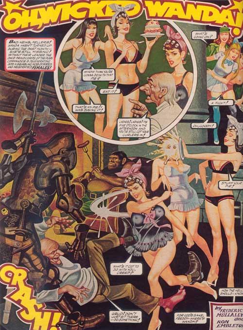 PENTHOUSE 1979 June 掲載コミック OH,WICKED WANDA!