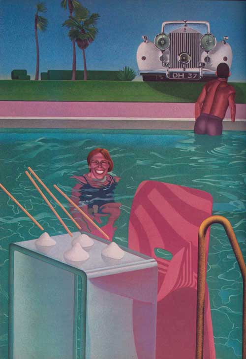 1981年4月 ビンテージ ペントハウス Young rich &miserable by Ben Stein
