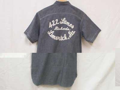 Cushman S/S Work Shirts/シャンブレーワークシャツ422LANES