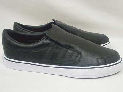 Adidas Super Skate Slip on オール レザー