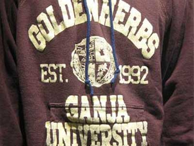 Ganja University GOLDEN HERBS Parka