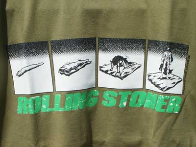 dub factory S/S Tee/ROLLING STONER by 2yang
