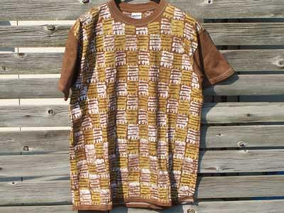 新品  Unique Batik バティック染め Tシャツ