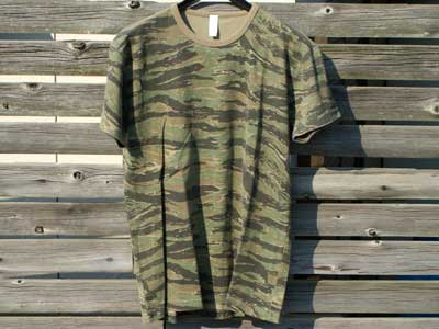 新品 United Athle Tiger Camo S/S Tee
