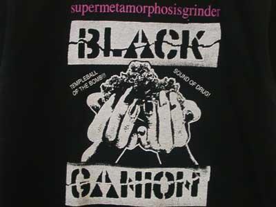 BLACK GANION ブラックガニオン バンドT