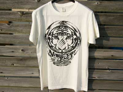 QOPYRIGHTFREE Vinyl Tiger S/S Organic Cotton Tee