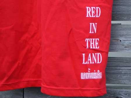 タイ 反独裁民主戦線 赤シャツ隊 S/S Tシャツ&バンダナ
