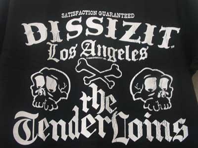 DISSIZIT! ×TenderLoins コラボ S/S Tee