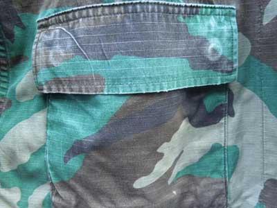 Used Army JKT リップストップ素材 Ripstop