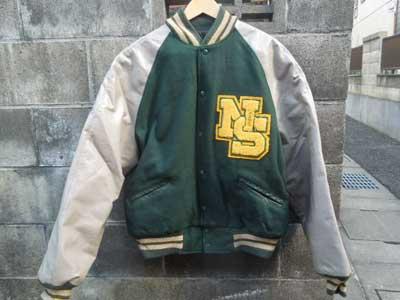 Used スタジャン/Meca sportswear