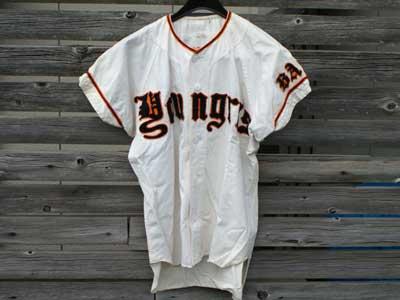 Vintage 古着・マチ付き べースボールシャツ