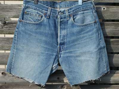 US Vintage 古着 リーバイス 501 黒カンヌキ カットオフジーンズ