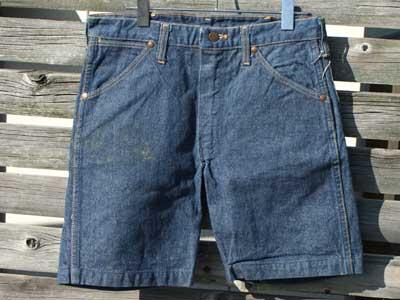 US Vintage 古着 Wrangler BLUE BELL 13MWZ カットオフジーンズ