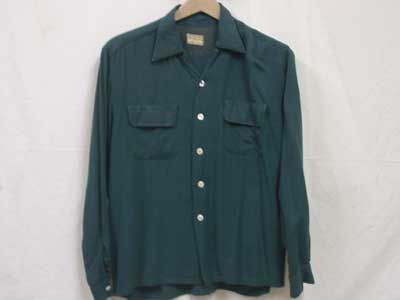 Vintage Used オープンカラーシャツ