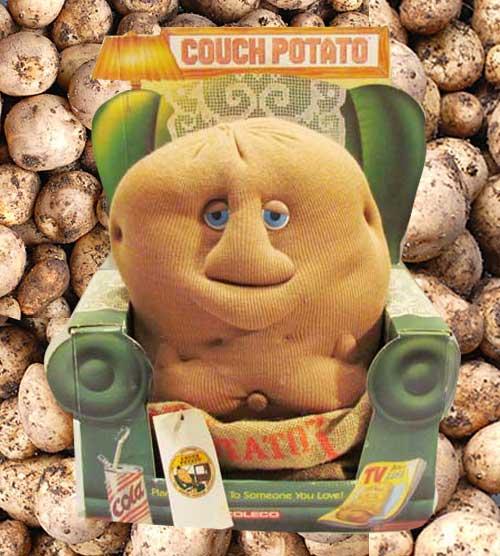 80年代の人形 COUCH POTATO