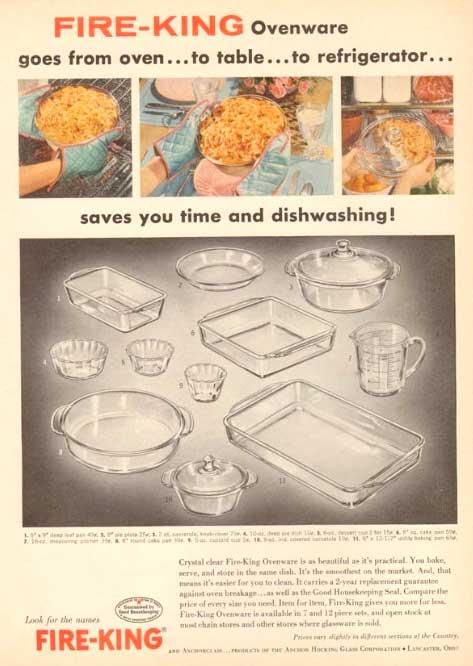 FIREKING Vintage advertisement ファイヤーキング 50年代 ビンテージ広告