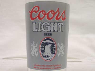 Antique ノベルティーグラス Coors LIGHT