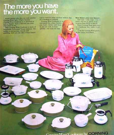1968 CORNING WARE CANADA AD
