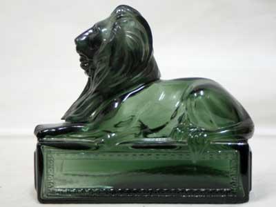 Antique Used AVON 香水ボトル Classic Lion