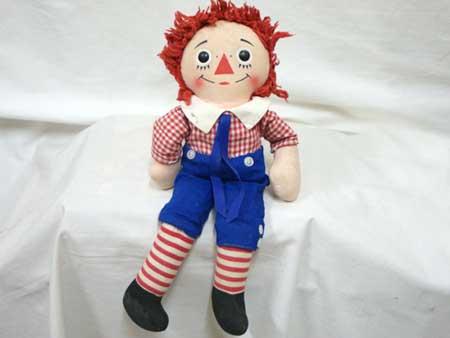アンティーク ニッカーボッカー社 ラガディ アンディーの人形