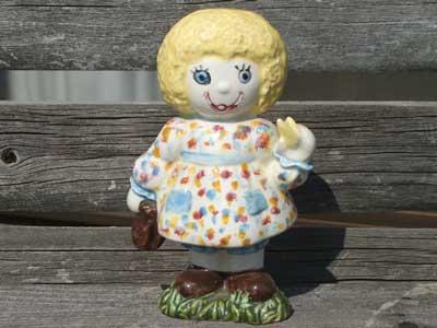 Antique Toy/陶器製 アンちゃんの置物