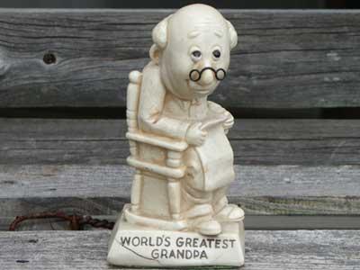 SILLISCULPTS(RUSS BERRIE社)/Vol4/World's Greatest Grandpa