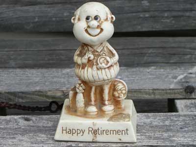 SILLISCULPTS(RUSS BERRIE社)/Vol4/Happy Retirement
