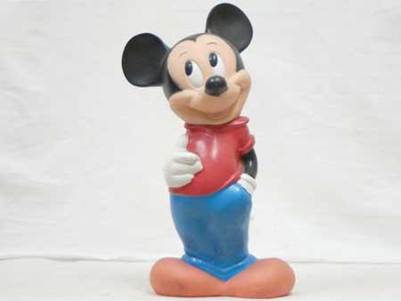 アンティーク ミッキーマウスの貯金箱