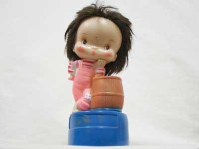 Antique Toy/70年代 女の子の貯金箱