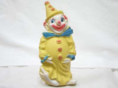 Antique Toy/黄色いピエロの貯金箱