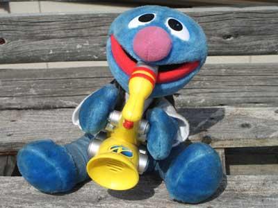 Antique Toy/Sesame Street Grover