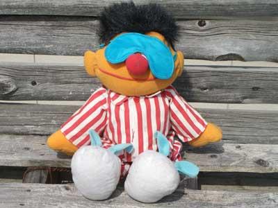 Antique Toy/Sesame Street Ernie Talking Doll