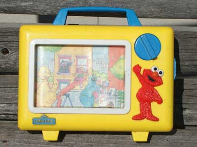 Antique Toy/Sesame Street 音の出ないオルゴール