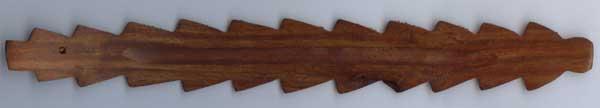 リーフ型の木製 お香立て