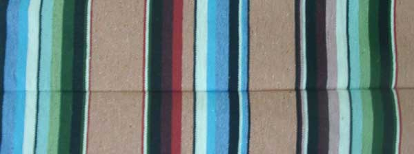 MEXICAN Blanket/saltillo blanket