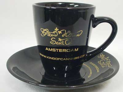 Green House AMSTERDAM Cup & Saucer