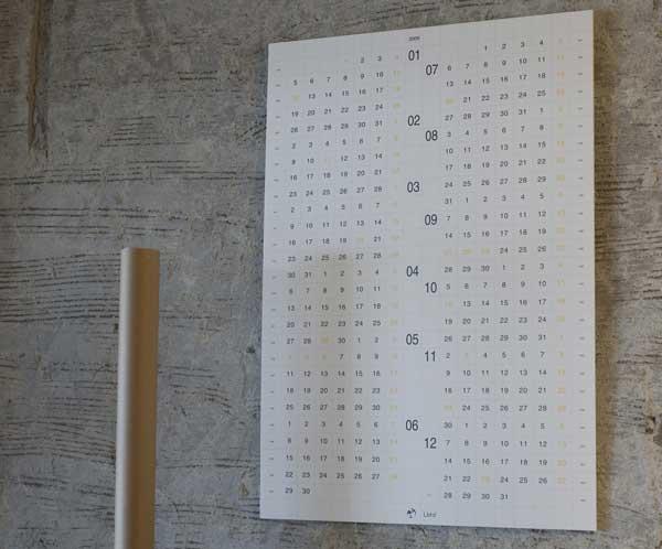 2009年 Lbtd カレンダー/Wall Calendar(ウォールカレンダー)
