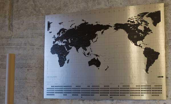 2009年 Lbtd カレンダー/Map of the world(世界地図)