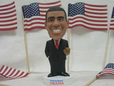 Funko Wacky Wobbler/オバマ大統領・首振り人形